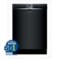 Bosch Ascenta 24-in Built-In Dishwasher (Black) ENERGY STAR