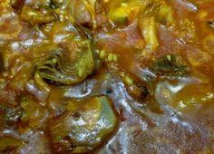 Arroz caldoso con alcachofas y costillejas 05