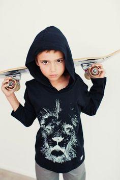 For the coolest kids - Mista TJ's lion hoodie