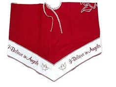 I Believe In Angels Tree Skirt 52 inches >>> Check this awesome product by going to the link at the image.
