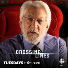 Donald Sutherland, Crossing Lines, Einstein, Movie Posters, Movies, News, Pictures, Films, Film Poster