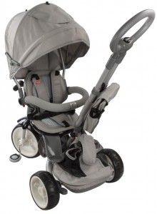 Rowerek trójkołowy Little Tiger - szary Baby Strollers, Babe, Sun, Children, Toddlers, Baby Prams, Boys, Kids, Prams
