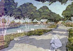 landscape architecture plan graphics - Buscar con Google