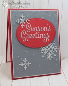 2002 best cards christmas images on pinterest in 2018 christian handmade christmas card for sunday stamps weekly challenge 167 gray white m4hsunfo