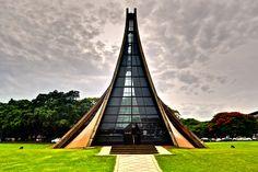 Luce Memorial Chapel. Taichung Taiwan. 1963 / I M Pei