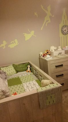 Peter Pan inspired nursery, a great gender neutral design!