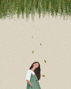 New Tree Illustration Art Drawings Ideas Gravure Illustration, Art And Illustration, Art Anime, Anime Art Girl, Arte Sketchbook, Aesthetic Art, Couple Aesthetic, Cartoon Art, Cute Drawings