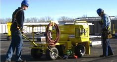 AES Raptor TriRex • 5 Man Mobile Fall Protection Cart! Exceeds OSHA Requirements.