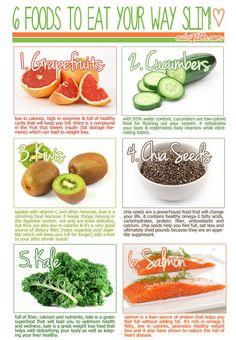 6 slimming foods