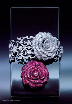Chopard: Diamond Rose Bracelet