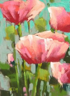 Painting My World: Up Close and Personal with Wildflowers...The Red Poppy