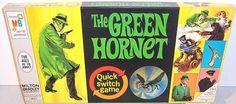 MILTON BRADLEY: 1966 The Green Hornet Game #Vintage #Games