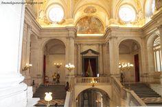 Uno de los pocos lugares que se puede fotografiar en el interior del Palacio Real.