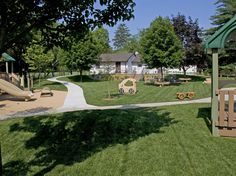 A bicycle path around the back yard, a must