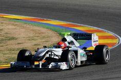 2010 Mercedes MGP W01 (Michael Schumacher)
