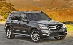 2013 Mercedes-Benz GLK Crossover Expands with Diesel Engine Offering