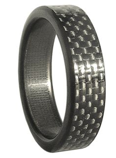 Narrow Kilo Carbon Fiber Ring