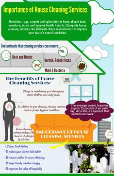 Overtime, rugs, carpets and upholstery at home absorb dust, moisture, stains and become health hazards. Complete house cleaning services can eliminate these contaminants to improve your house's overall condition...