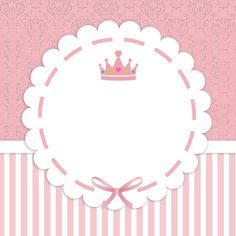 Little Princess Label - Diy Crafts Princess Party, Little Princess, Logo Online Shop, Baby Stickers, Baby Shawer, Ideas Para Fiestas, Baby Scrapbook, Baby Cards, Kids And Parenting