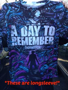 A Day To Remember Homesick long sleeve by ExclusiveMerch on Etsy, $44.99