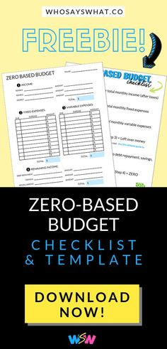 Need to create a budget? A zero-based budget is super simple! Use a zero based budgeting method to pay off debt and save more money. Budget Binder, Monthly Budget, Budget Tracking, Making A Budget, Create A Budget, Bitcoin Miner, Ways To Save Money, Money Saving Tips, Money Tips