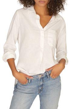 Petite Women's Sanctuary Miles Tunic Shirt, Size X-Small P - White Tunic Shirt, Tunic Tops, Mein Style, Prom Looks, Petite Women, Looking For Women, Nordstrom, Shirts