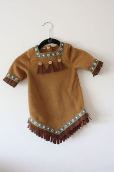 Old Navy Indian Girls Size 12-18 Months Costume with Headband #OldNavy #CompleteCostume