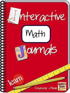 Runde's Room: Interactive Math Journals