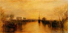 Joseph Mallord William Turner - Chichester Canal, c.1829