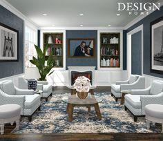 Design Home App, House Design, Gallery Wall, Home Decor, Decoration Home, Room Decor, Architecture Design, Home Interior Design, House Plans