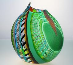 Murano Glass Vases | AreaNeo | Luca Vidal Studio Celotto Murano glass vase - Lauritz.com ...