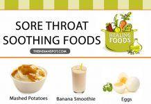 FOODS THAT HELP SOOTHE SORE THROAT