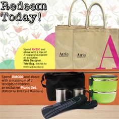 24 Jul-1 Aug 2015: Atria Shopping Gallery Redeem Free Gift Today