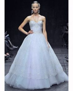 Wear the Rainbow - 2013 colored wedding gowns!