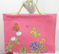 LE TOTE with Original Painting by GnGHandmade on Etsy, $35.00