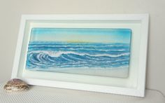 Hey, I found this really awesome Etsy listing at https://www.etsy.com/listing/236473849/blue-landscape-wave-with-yellow-sunrise