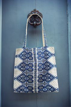 Traditional Fabric, Reusable Tote Bags, Greek, Accessories, Collection, Summer, Summer Time, Greece, Jewelry Accessories