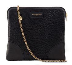 Mr Molten Clutch Black Handbag