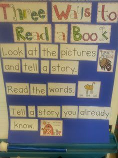 Chalk Talk: A Kindergarten Blog: Retell a Story You Already Know