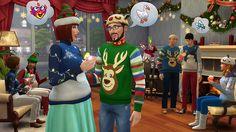 BeAzSims: Como organizar uma festa de Natal em The Sims 4