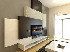 1362964607_481528755_4 Freelance Interior Designer 3d Visualization Layout 2d .  Tv Feature WallWood Feature ...