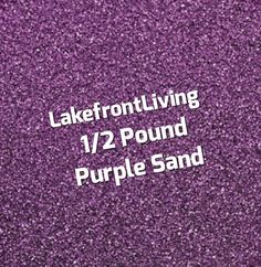 Items similar to Purple Sand for Wedding Unity Sand - Sand Ceremony - Colored Sand for Craft Projects, Kids Play or Fairy Garden - Pound on Etsy Unity Sand, Sand Ceremony, Colored Sand, Kids Playing, Craft Projects, Purple, Handmade Gifts, Crafts, Wedding