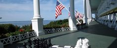 Dream Vacation - Mackinac Island, Michigan. One of the top 10 islands in the world. Frozen in time & gorgeous!
