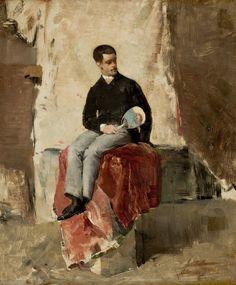 O Pintor Belmiro de Almeida - Almeida Júnior