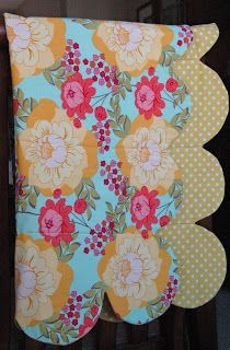 Jengerbread Creations: Scalloped Edge Baby Quilt Tutorial