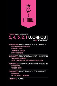 FitMiss 5 4 3 2 1