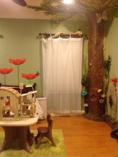 Please Enter: Kyahu0027s Magical Fairy Forest Bedroom