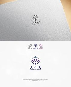 Logo design for ARIA Coaching and Consulting - ... Upmarket, Modern Logo Design by OlgiCh