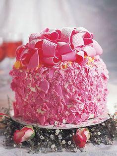 Madonna Inn Pink Champagne Cake, my fav bday cake!!