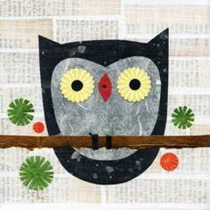 The Little Black Hoo Hoo Print by Kate Endle